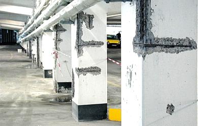 Sanierung von statisch relevanten Bauteilen im Breisgau